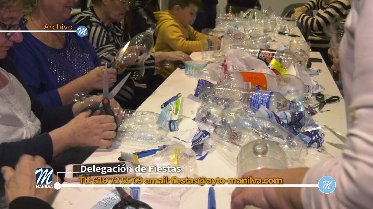Manilva recicla por navidad. Fiestas y Juventud