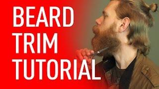 getlinkyoutube.com-How to Get a Beard Trim | Eric Bandholz