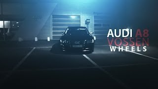 getlinkyoutube.com-Audi A8   Vossen Wheels