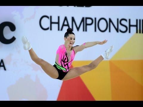 IW KALOYANOV Nicole / WORLD CHAMPIONSHIPS / KOREA / SPORT AEROBICS