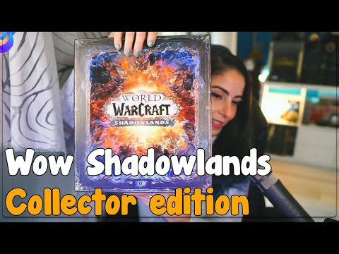 Shadowlands Collector's Edition Unboxing in LIVE