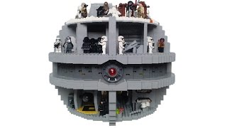 getlinkyoutube.com-Lego Star Wars Starkiller Base MOC