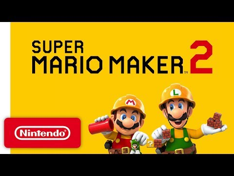 Super Mario Maker 2 (NS)  © Nintendo 2019   1/2