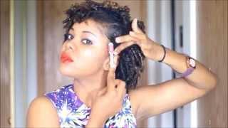 getlinkyoutube.com-Finger Coils Natural Hair Tutorial using Lotta Body (GIVEAWAY CLOSED)