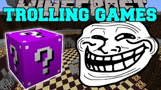 getlinkyoutube.com-Minecraft: THE ABYSS TROLLING GAMES - Lucky Block Mod - Modded Mini-Game