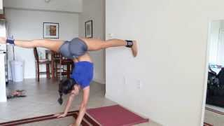 getlinkyoutube.com-How to get your Needle - Advance Stretching