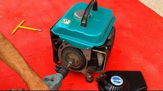 getlinkyoutube.com-How to make electric starter for any generator