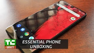 Essential phone unboxing