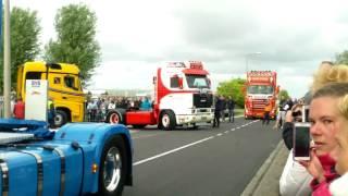 getlinkyoutube.com-Tekno Event 2016 , uittocht trucks / deel 1, trucks leaving , part 1