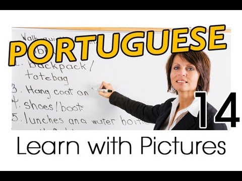 Learn Portuguese with Pictures -- Brazilian Portuguese Job Vocabulary