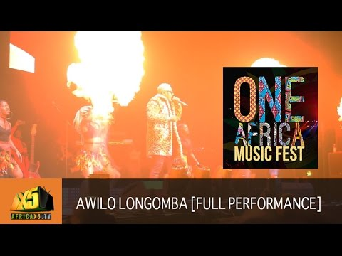 ONE AFRICA MUSIC FEST 2017 | Awilo Longomba [Full Performance]