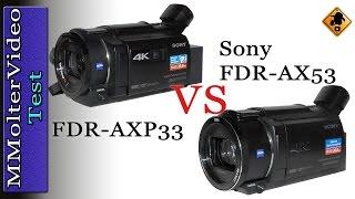 getlinkyoutube.com-FDR-AX53 VS FDR-AX33 / 4K Camcorder Test von MMolterVideo