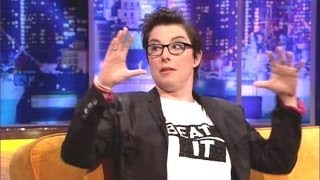 """getlinkyoutube.com-""""Sue Perkins"""" On The Jonathan Ross Show Series 6 Ep 10.8 March 2014 Part 3/5"""
