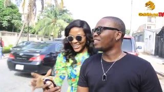 getlinkyoutube.com-WATCH HOW A MARRIED WOMAN INTERRUPTS OLAMIDE'S LIVE INTERVIEW FOR A SELFIE!