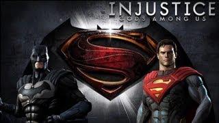 getlinkyoutube.com-Injustice Gods Among Us - Batman Vs Superman with Lore & Skins