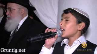 "getlinkyoutube.com-Uziya Tzadok -Kochav Meir | Live At Chuppah עוזיה צדוק בחתונת נכדת הרב עובדיה זיע""א"