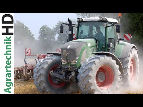 1000 PS - Claas Xerion 5000 + Fendt 826 + Fendt 722 Mais Saat - Maize seeding - cultivator