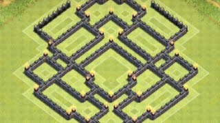 getlinkyoutube.com-*Clash Of Clans* Town Hall 8 TROPHY BASE! (Best Cup Hunting Base For TH8)