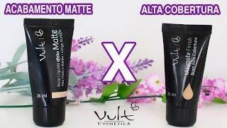 getlinkyoutube.com-BASE DA VULT ACABAMENTO MATTE X ALTA COBERTURA: COMPARAÇÃO