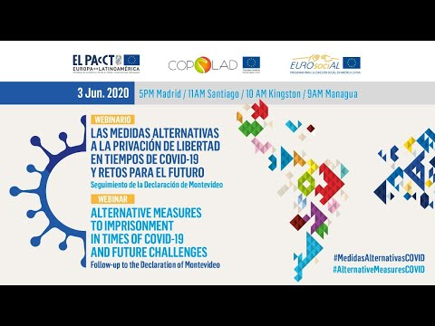 (Webinar Full Video) Medidas Alternativas a prisión / Alternative measures to prison & COVID-19