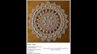 getlinkyoutube.com-Crochet Doilies on Parade by Patricia Kristoffersen
