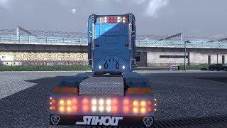 getlinkyoutube.com-Euro Truck Simulator 2 SCANIA T CAB LONGLINE MOD TEST