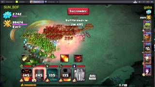 getlinkyoutube.com-bes - clash of lords 2 - wizard starategy in arena