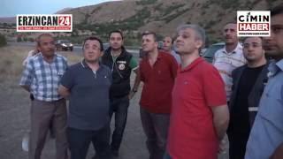 Erzincan'da Korkutan Yangın Zorlukla Söndürüldü