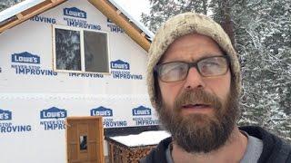 getlinkyoutube.com-Mountain Dream Home #32: Rocket Mass Heater -- Is it Working?