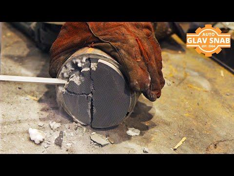 Удаление катализаторов и установка пламегасителей на Инфинити QX56