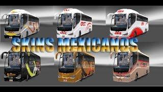 getlinkyoutube.com-Skins Mexicanos Euro Truck Simulator 2 Irizar PB By: Ronaldo Gm