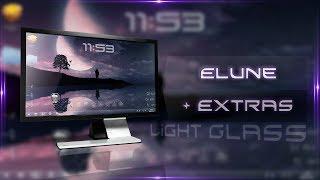 getlinkyoutube.com-[Tema + Extras W7/ 8/ 8.1] Elune (Light Glass) ᴴᴰ