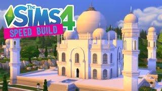 getlinkyoutube.com-The Sims 4 -Speed Build- Taj Mahal Palace! - No CC -
