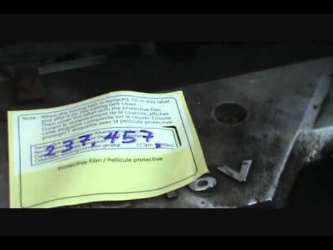 Part 2 Changing Timing Belt Hyundai Accent 1.6L