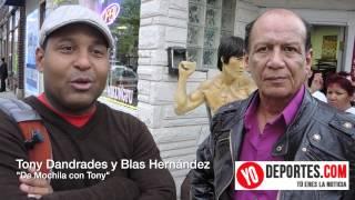 Tony Dandrades en Chicago con Blas Hernandez