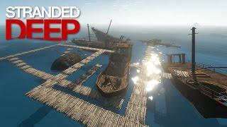 getlinkyoutube.com-Stranded Deep: Part 33 - ABANDONED HARBOR!