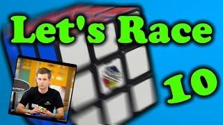 getlinkyoutube.com-Let's Race Mats Valk Rubik's Cube World Record 4.74 - Ep. 10