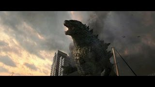 getlinkyoutube.com-Godzilla (2014)  - All Godzilla Scenes HD 1080p