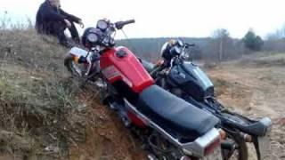 getlinkyoutube.com-Extreme Deleted Scenes ява минск стант jawa minsk stunt