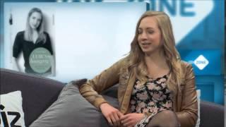 getlinkyoutube.com-Laura Pape live im Interview bei joiz germany über ihre überwundene Magersucht