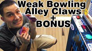 getlinkyoutube.com-Weak Bowling alley claw machines + Cheating stacker!