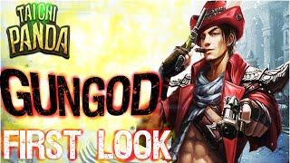 getlinkyoutube.com-Taichi Panda - New hero! Gun God│A first look