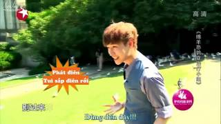 [LoveLayVN] [Vietsub] 150913 Lay Vs Chim Bồ Câu - Go Fighting Episode 11 BTS