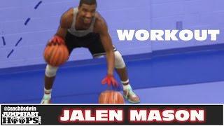 getlinkyoutube.com-Jalen Mason (PG 2019) Workout | Coach Godwin Ep: 209