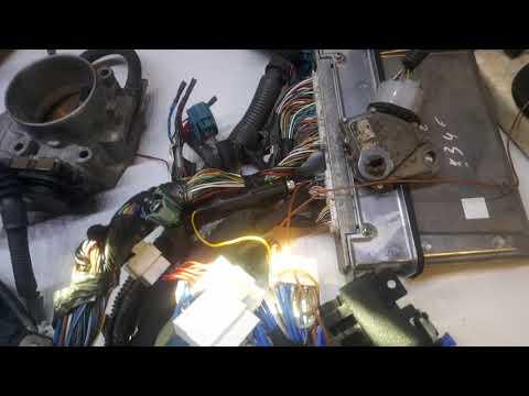 Газ 24 свап 3uz 6at. Приборная панель. Ч2: большой тест проводки и щитка.