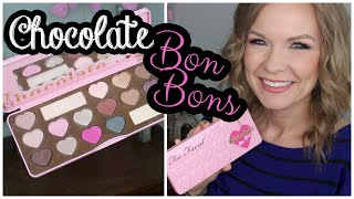 getlinkyoutube.com-Too Faced Chocolate Bon Bons Palette Swatches & Review! | LipglossLeslie