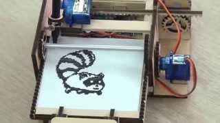 getlinkyoutube.com-DIY Printing tiny images using Arduino Uno