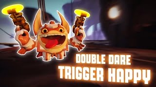 getlinkyoutube.com-Skylanders: SuperChargers - Double Dare Trigger Happy's Soul Gem Preview (No Gold, No Glory)