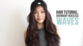 Hair Tutorial: Overnight Heatless Waves