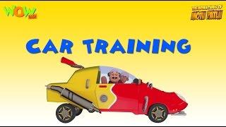 Motu Patlu Vacation Special  Car Training   As Seen On Nickelodeon